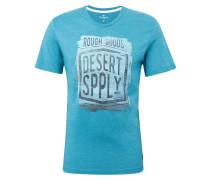 T-Shirt rauchblau / mischfarben