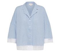 Hemd blau / hellblau / weiß