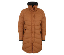 Funktionsjacke 'Oslo Down Light' braun