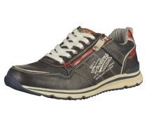 Sneaker beige / navy / dunkelrot