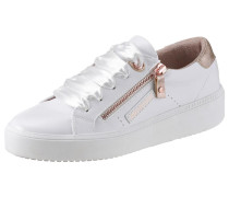 Sneaker weiß / gold