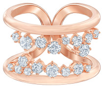 Ring 'North' rosegold / transparent