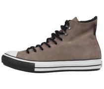 Sneaker hellbraun / schwarz / weiß