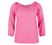 Zarte Off Shoulder-Bluse pink
