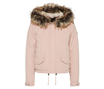 Jacke 'new Skylar FUR Parka' creme / rosa