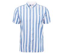Hemd 'marki' blau / weiß