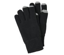 Handschuhe grau / schwarz