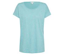 T-Shirt creme / hellblau / altrosa