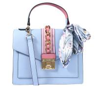 Handtasche 'glendaa' hellblau / rosa