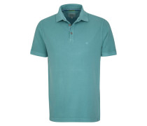 Polo-Shirt cyanblau
