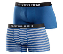 Boxer in Jeansstreifen blau
