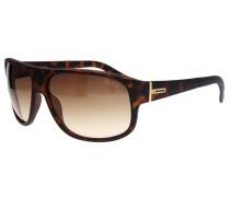 Sonnenbrille Tortoise braun / gold