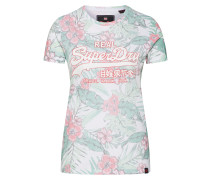 Shirt 'Tropical' mischfarben