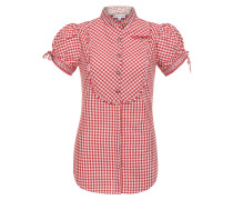 Bluse 'Ilaria' rot / weiß