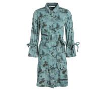Kleid jade / mischfarben