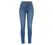 'Scarlett High' Denim blue denim