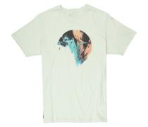 T-Shirt 'twhb' hellgrün / mischfarben