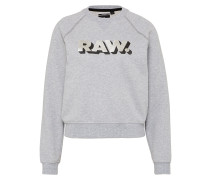 Sweater 'Xula Art Cropped' grau