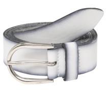Gürtel '3cm' weiß