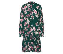 Kleid grün / rosa