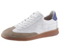 Sneaker 'babylon' weiß / beige / blau