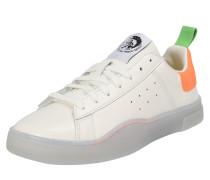 Sneaker 's-Clever Low' orange / weiß