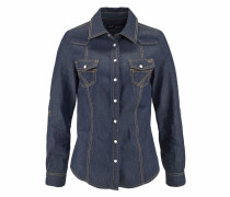 Jeansbluse blue denim