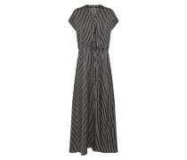 Kleid 'Annsofie' schwarz / weiß