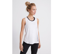 Tanktop 'Training Essential' weiß / grau