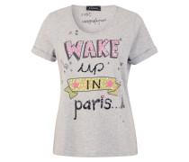 Shirt 'wake UP' grau