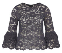 Bluse 'corded Lace' basaltgrau