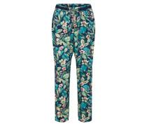 Pants navy / petrol / rosa