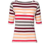 T-Shirt orange / rot / weiß