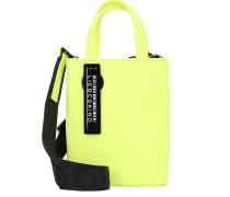 Handtasche schwarz / neongelb