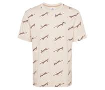 Shirt braun / creme