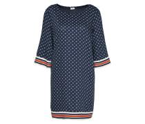 Kleid 'berlin' blau / rot