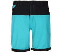 Shorts türkis / schwarz