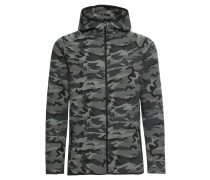 Jacke 'Interlock Camo Zip Jacket'