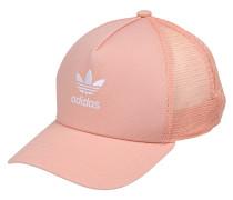 Cap 'trefoil Trucker' rosa / weiß
