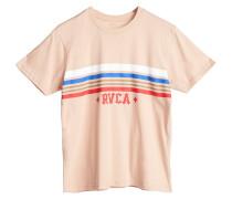 T-Shirt 'Retro' hellbeige / mischfarben