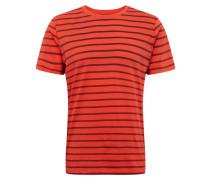 T-Shirt 'classic T Strp' rot