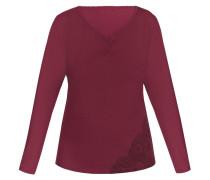 Shirt 'sensual Culture' merlot
