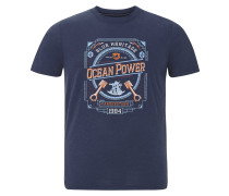 T-shirt ' Hogne ' blau