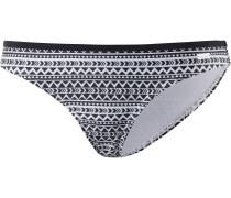 Bikini-Hose 'Spring' schwarz / weiß