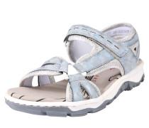 Sandalen hellblau / grau / silbergrau