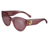 Sonnenbrille rosa / transparent