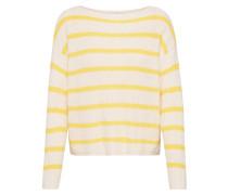 Pullover 'marina' beige / gelb