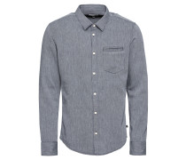 Hemd 'Oxfordhemd' blau