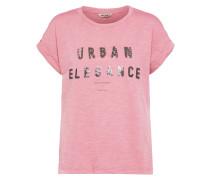 Casual T-Shirt grau / rosé