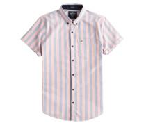Hemd hellblau / rosa